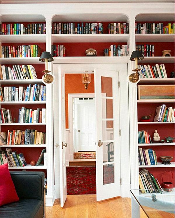 Дизайн домашней библиотеки: 37 фото.