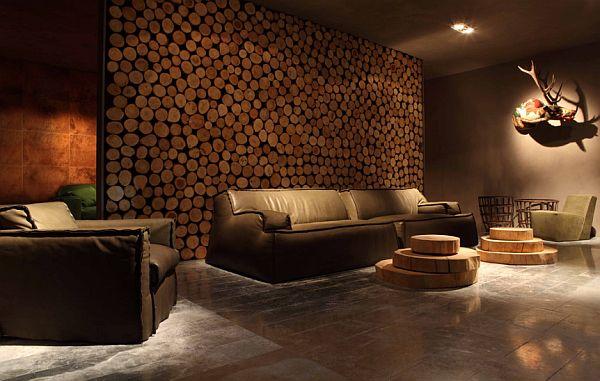Drewno Na Cianie Mieszkaniowe Inspiracje