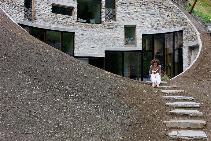 www.villavals.ch, Zdjęcia:Iwan Baan