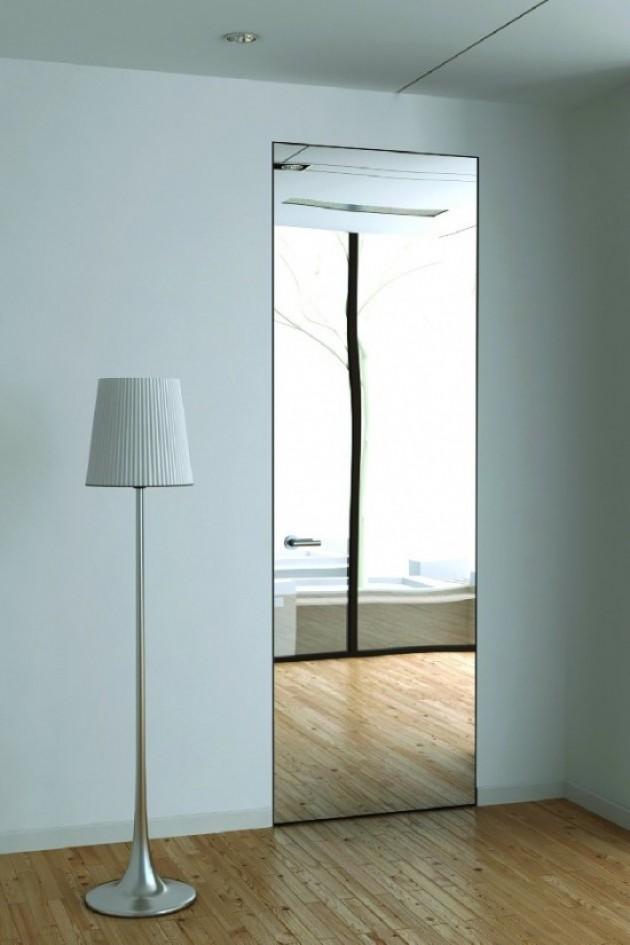 Wysokie drzwi z lustrem / producent: Support