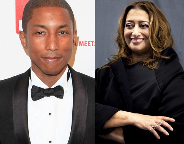 Pharrell-Williams i Zaha-Hadid