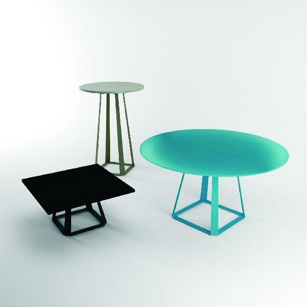 System stołów i stolików H2 / producent: Balma, projekt: Piotr Kuchciński