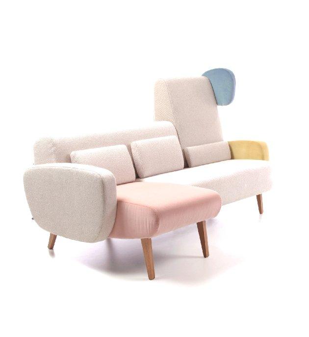 Kolekcja sof, foteli i leżanek Teddy Bear / producent: NOTI, projekt: Wierszyłłowski i Projektanci