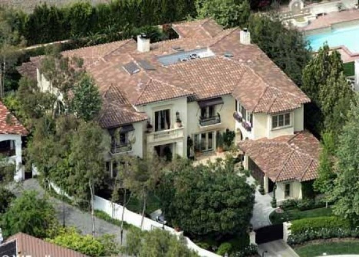 Britney Spears House/Beverly Hills