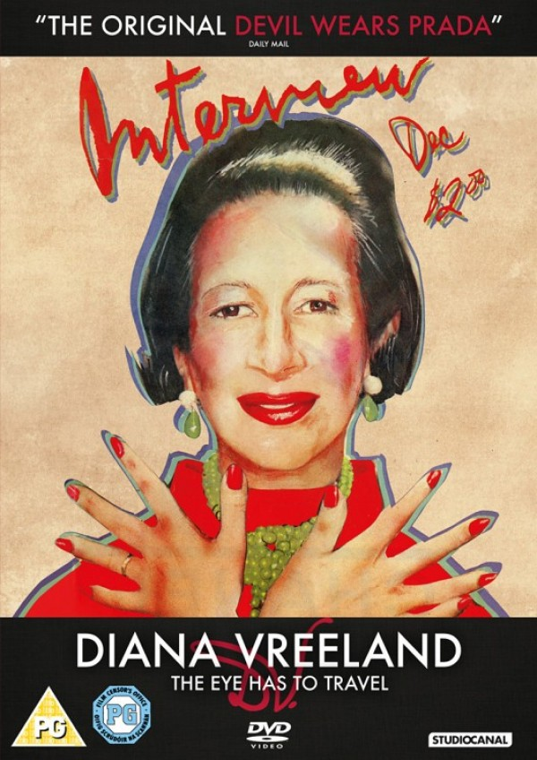 """Diana Vreeland: the Eye Has to Travel""  reżyserii Lisy Immordino Vreeland"