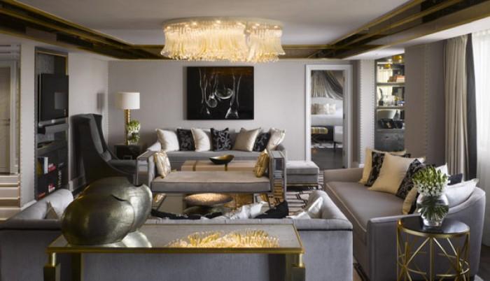 Mieszkanie inspirowane stylem el biety ii mieszkaniowe for Salon art deco
