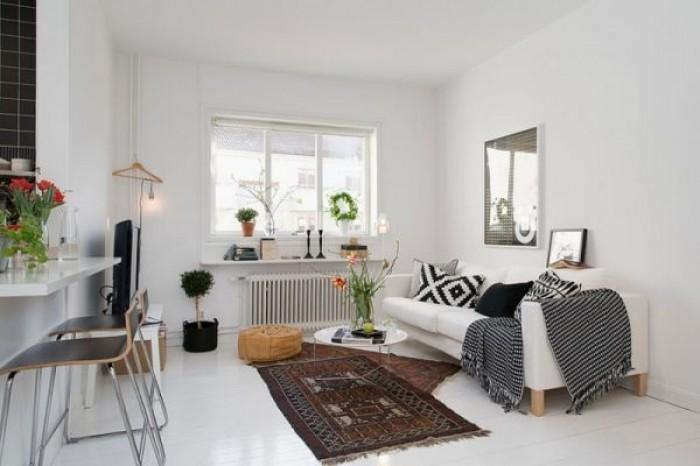 Styl nordycki mieszkaniowe inspiracje for Como decorar mi apartamento