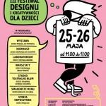 III edycja Festiwalu Designu i Kreatywności dla Dzieci