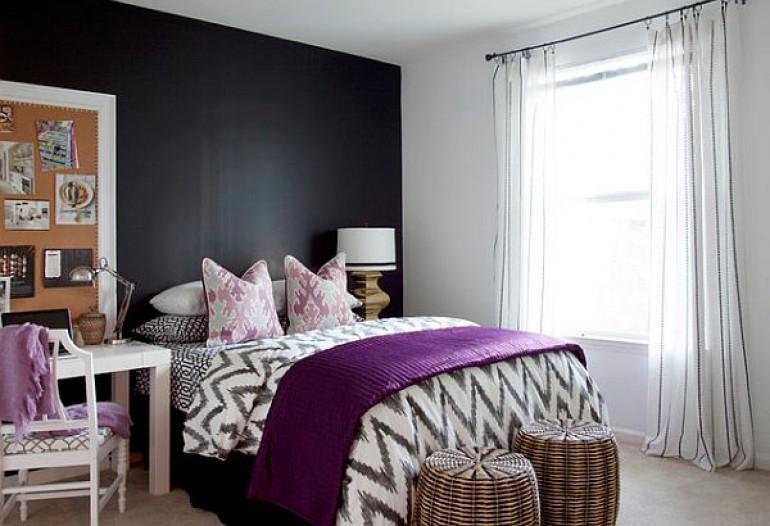 trendy w pokojach nastolatk w mieszkaniowe inspiracje. Black Bedroom Furniture Sets. Home Design Ideas