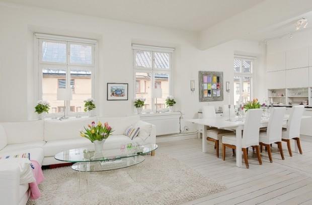Zasady skandynawskiego stylu mieszkaniowe inspiracje for Como decorar una casa sencilla