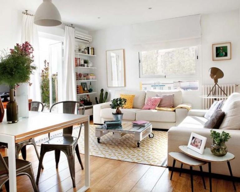Skandynawski styl w hiszpanii mieszkaniowe inspiracje for Carolina plan room
