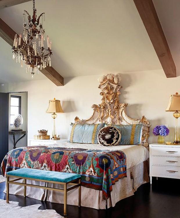 Colorful Bohemian Rooms: 5 Kroków Do Stworzenia Sypialni W Stylu Boho