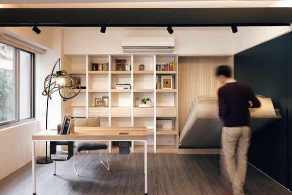 Small Office Hidden Storage