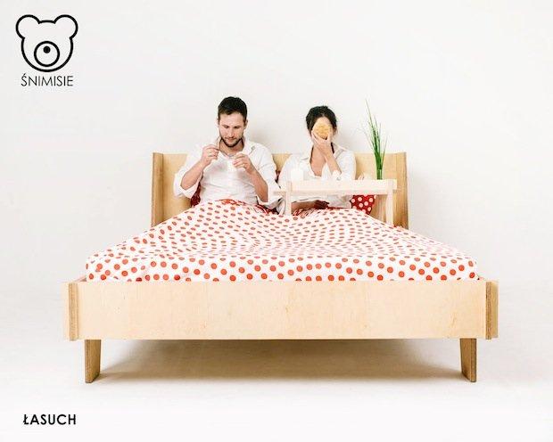 łóżko łasuch, fot. www.snimisie.pl