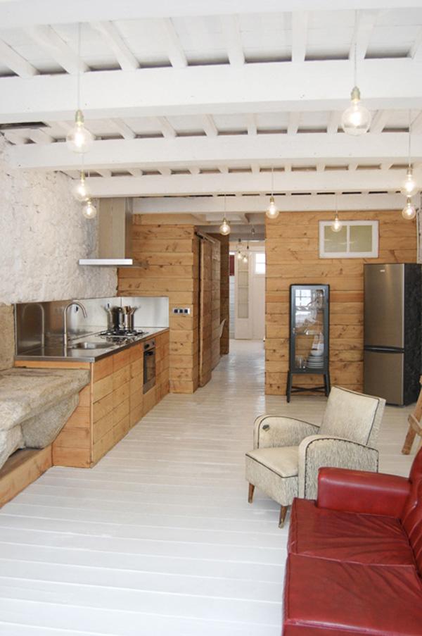 drewniana boazeria mieszkaniowe inspiracje