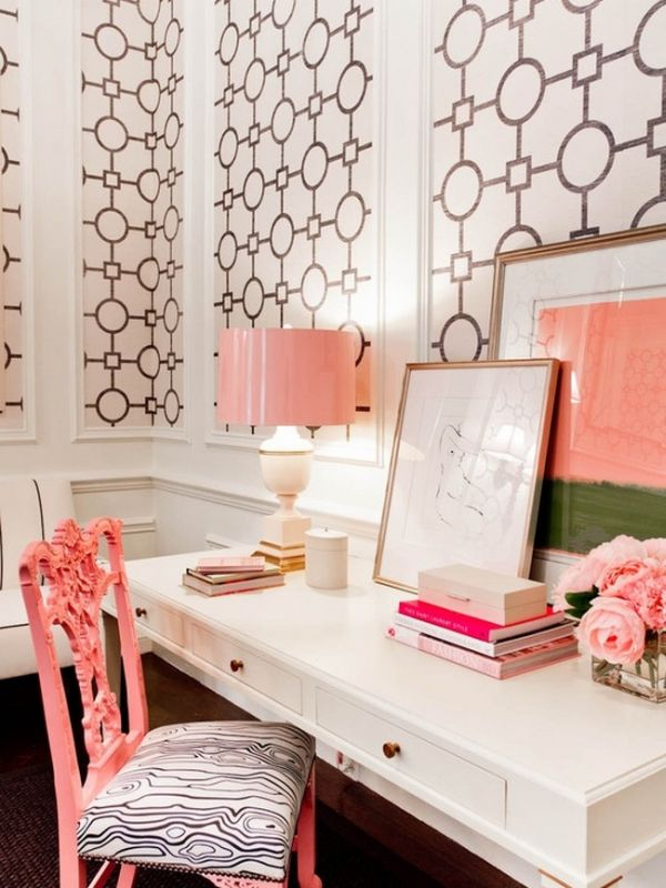 Perfect 17 Pink Office Ideas  Cute Space For Girl  Home Design And Interior