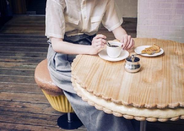 stołek ciastko