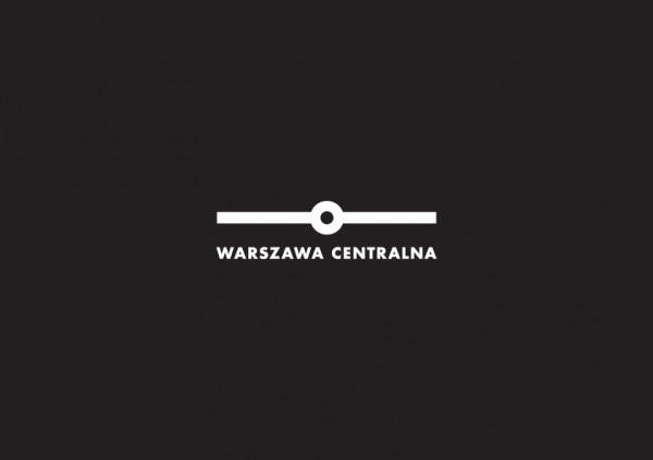 Logo - Dworzec Centralny, projekt: Aneta Lewandowska i Joanna Fidler-Wieruszewska