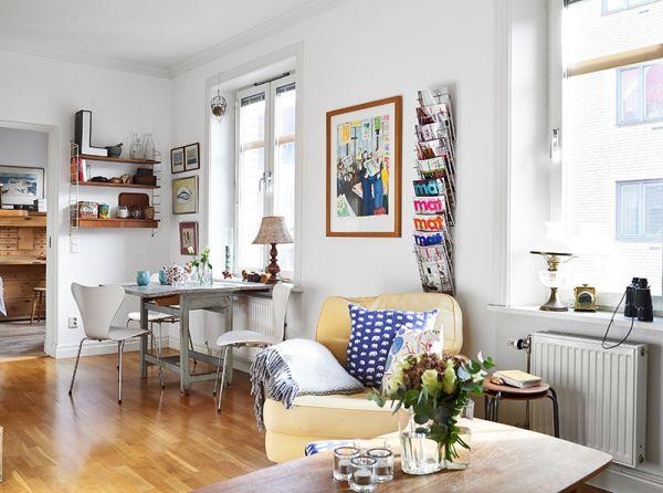 Eklektyczne mieszkanie