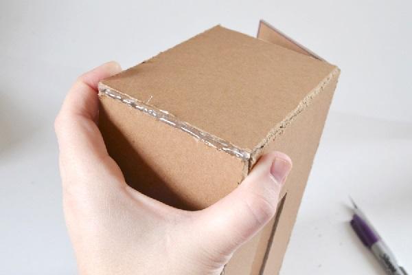 pudełko na chusteczki higieniczne