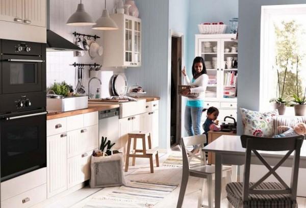 Ikea Kitchen Design Ideas ~ Aranżacja małej kuchni mieszkaniowe inspiracje