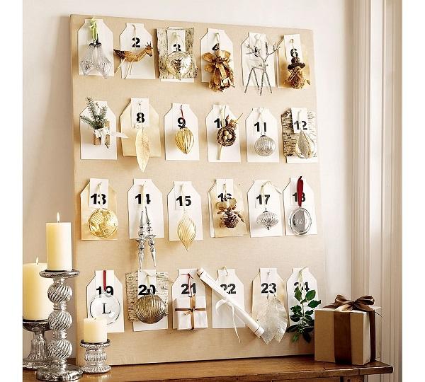 pomysł na kalendarz adwentowy