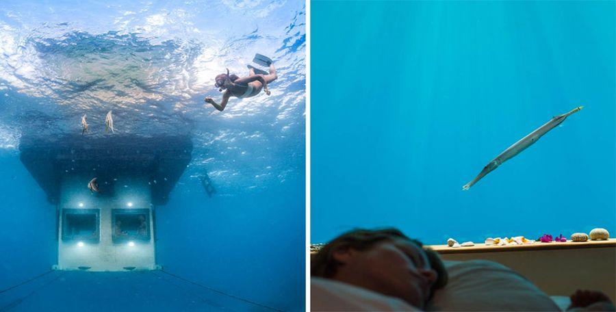 podwodny pokój