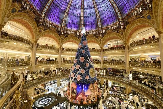 choinka Paryż