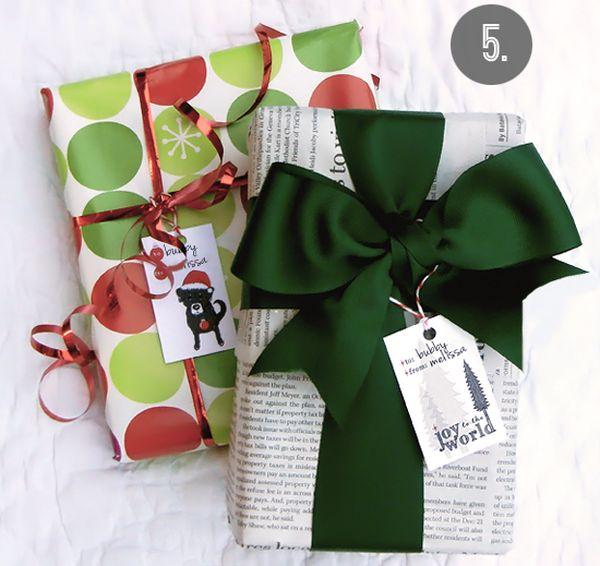 jak zapakować prezent na Boże Narodzenie