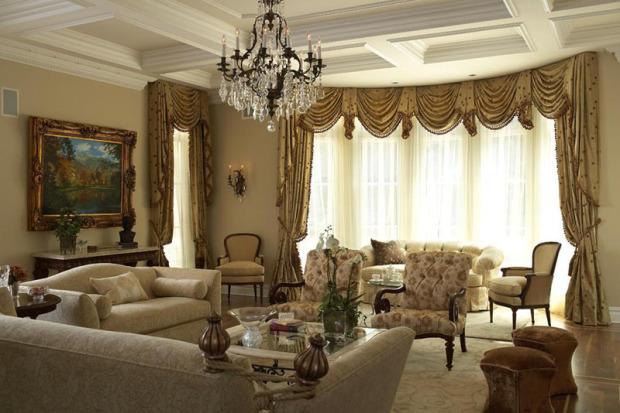 Elegancko I Na Temat Salon W Stylu Klasycznym Mieszkaniowe Inspiracje