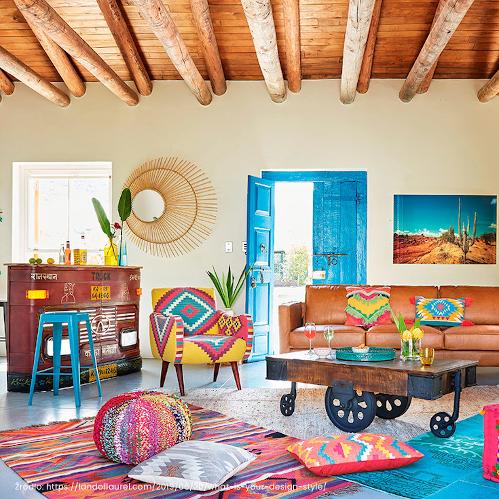 wnętrze w stylu meksykańskim