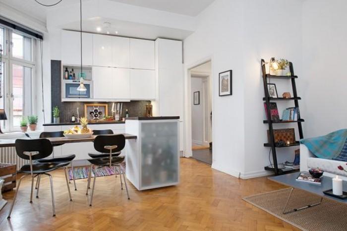 nowoczesna kawalerka mieszkaniowe inspiracje